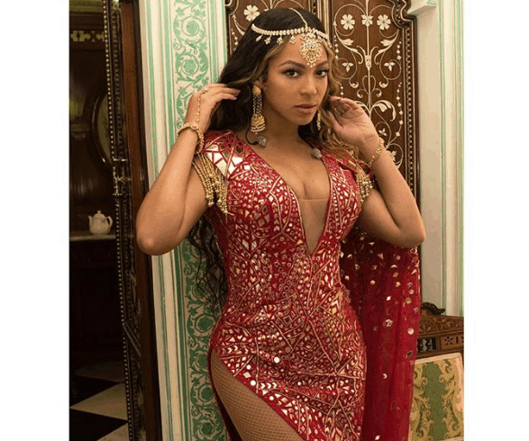 Beyonce at indian billionaire daughter wedding