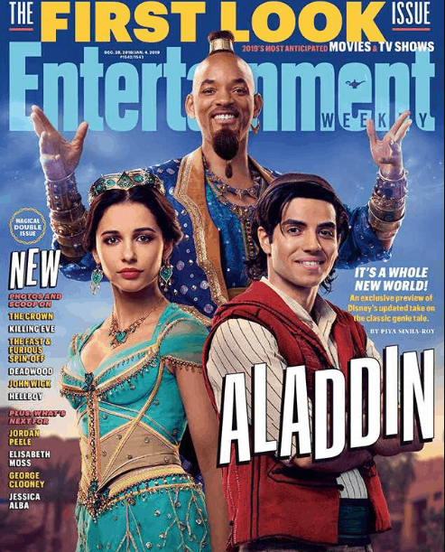 Will Smith as Aladdin Genie