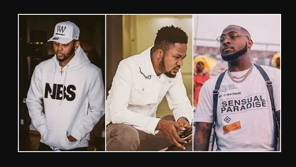 davido slap kiss daniels manager