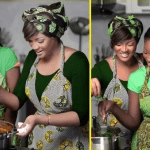 see Omotola Insane but lovely Presidential Speech