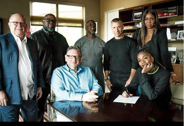 Universal Music Group and Tiwa Savage