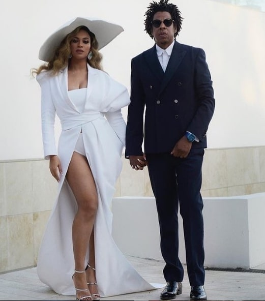 Jay Z and Queen Bey