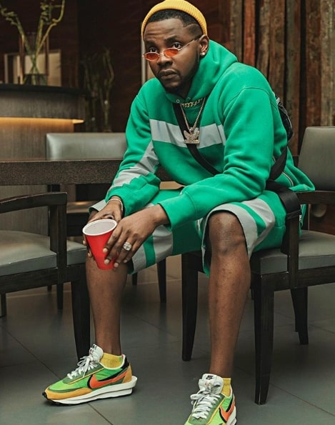 Kizz Daniel top 20 richest artist in Nigeria
