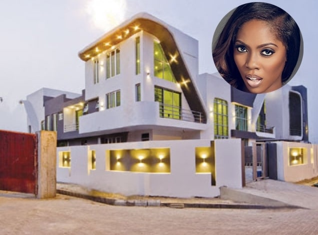 Tiwa Savage cars and Houses