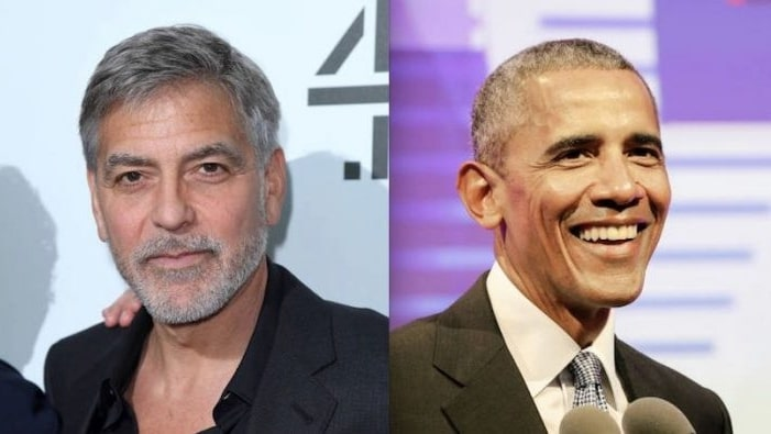 Obama and George Clooney