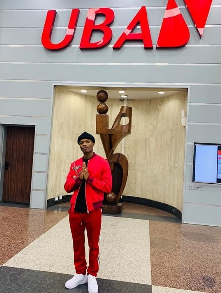 Wizkid UBA endorsement Deal