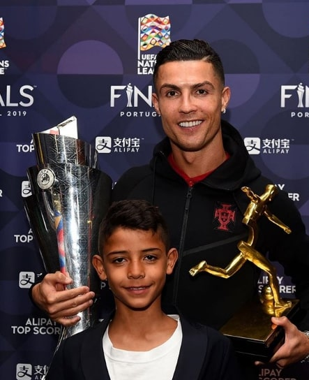 Ronaldo and Ronaldo Jr