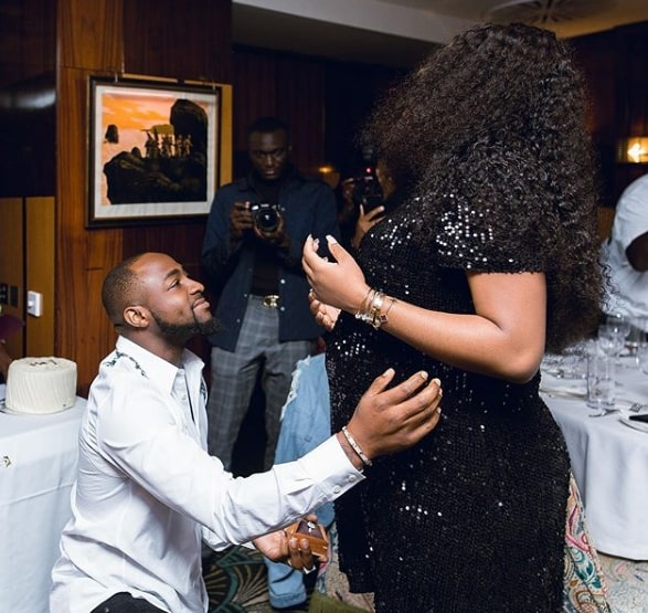 Davido proposal to chioma