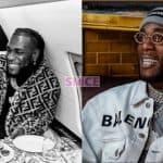 Burna Boy Platinum Plaque award