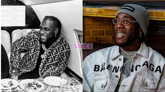 Burna wins first platinum plaque award in 2020 to Start The Year