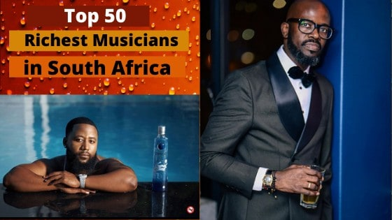 Top 50 Richest Musicians in South Africa