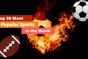Top 50 most popular sports in the world
