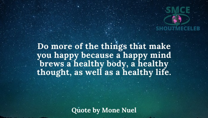 's Quote by Mone Nuel