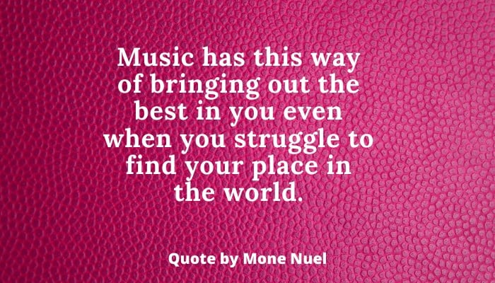 Mone Nuel Fame Quotes