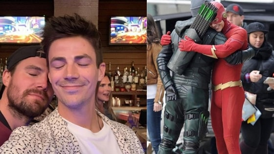 Grant Gustin and Stephen Amell net worth