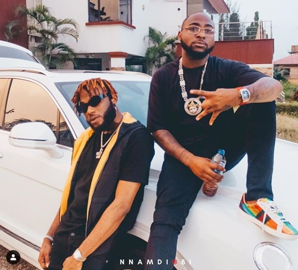 Dremo and boss Davido