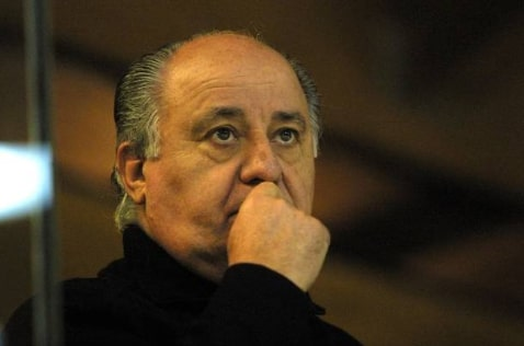 Net worth of Amancio Ortega 2020
