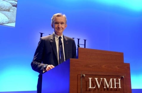 Net worth of Bernard Arnault