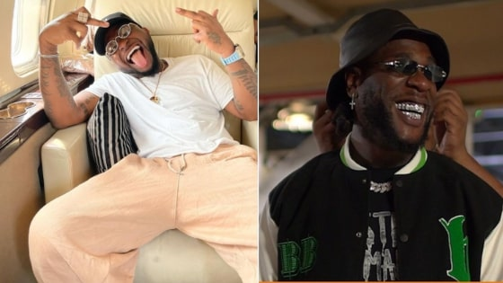 Burna Boy and Davido Beef