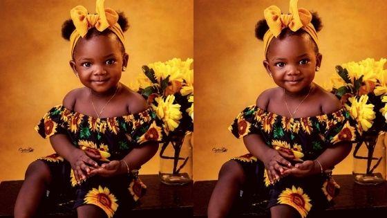 Simi & Adekunle Gold Daughter