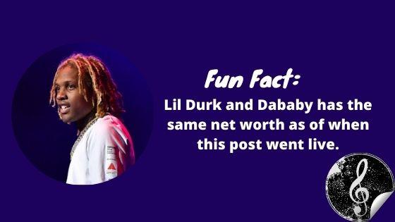 Lil Durk Fun Facts