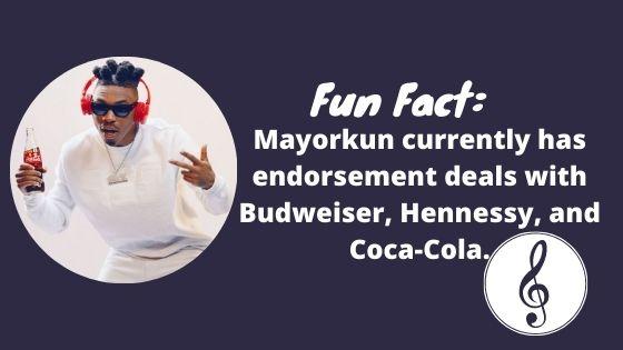 Mayorkun Fun Facts
